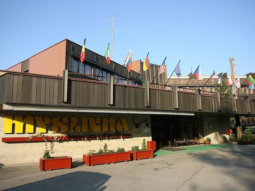 Hotel Myslivna v brněnských Kohoutovicích.