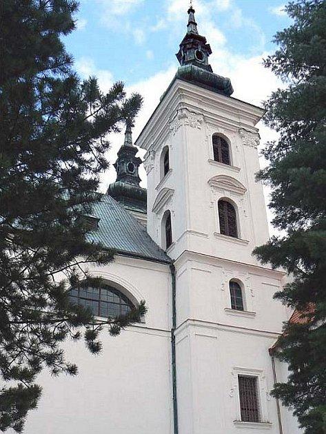 Kostel Narození Panny Marie ve Vranově u Brna.