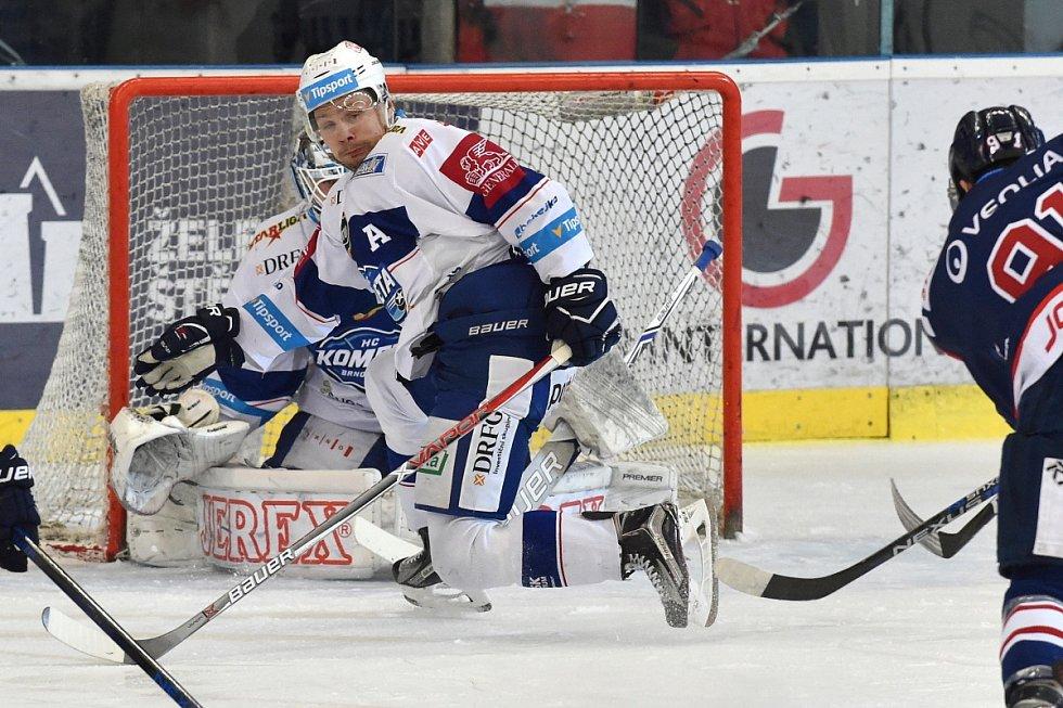 Kometa Brno v posledním předvánočním duelu doma přivítala Vítkovice.