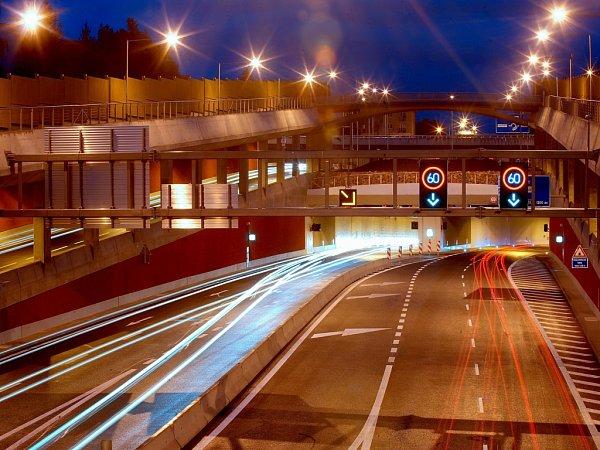 Královopolské tunely vBrně - ilustrační foto.