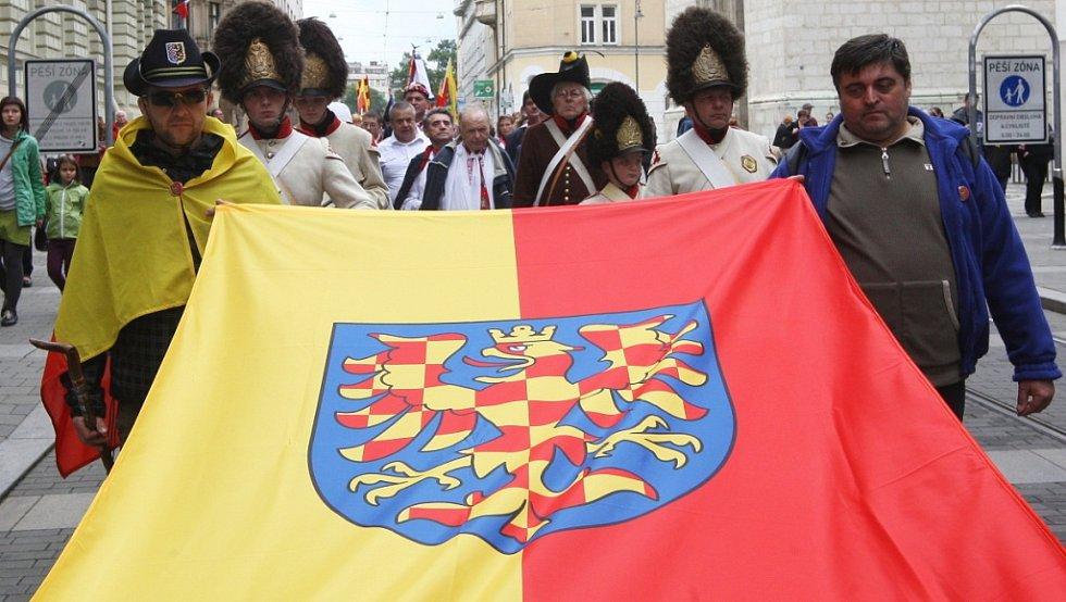 Moravané slaví Den za Moravu. Připomínají si tím první písemnou zmínku o Moravanech, od které uplynulo už 1192 let, a zároveň 604. výročí korunovace moravského markraběte Jošta římským králem.