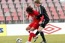 Zbrojovka v neděli s Příbramí udržela na svém kontě nulu. Jediný gól zápasu vstřelil Markovič.