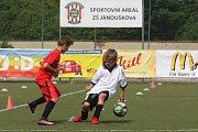 KNEJZLÍK V AKCI. Liberecký hráč vstřelil jeden gól.