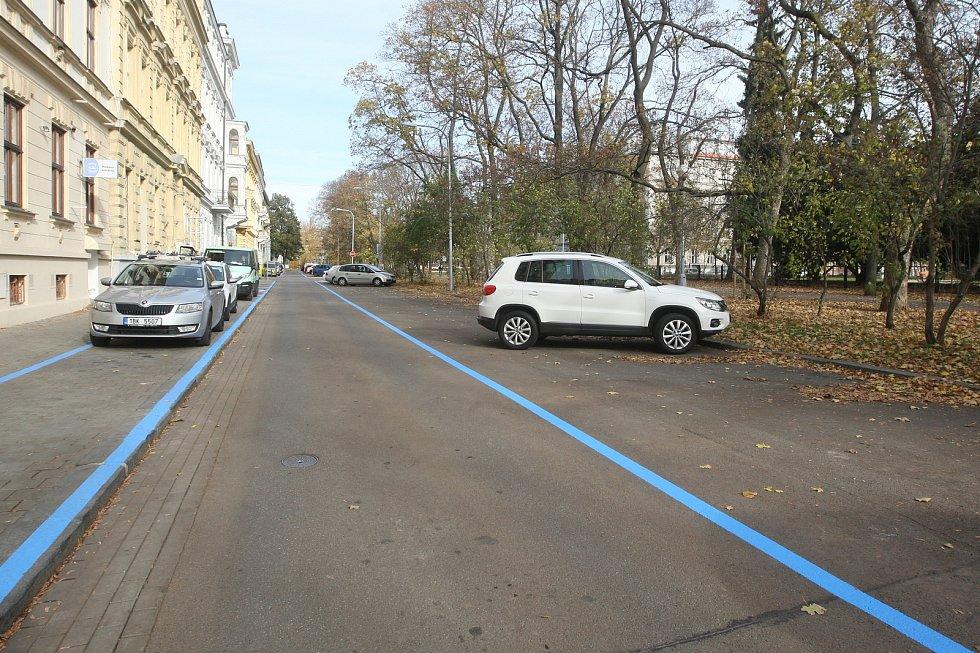 Rezidentní parkování v Brně.