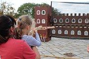 Na děti čekala v neděli na brněnském Špilberku spousta her a zábavy.