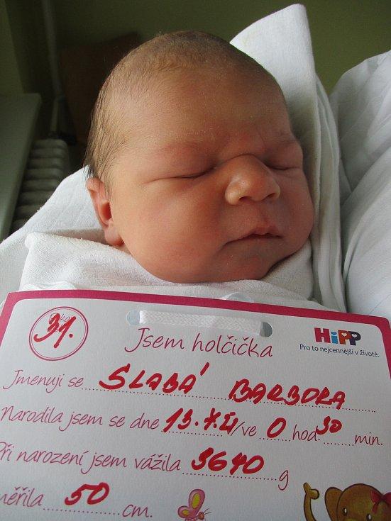 Barbora Slabá, 13. 7. 2021, Lanžhot, Nemocnice Břeclav, 3640 g, 50 cm