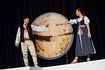 Nový pořad profesionální taneční části Ondráše nazvaný Náš svět se v Brně po své loňské listopadové premiéře dočká teprve druhého uvedení.