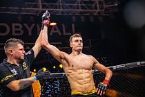 Thaiboxer Matěj Peňáz na Oktagon 18.