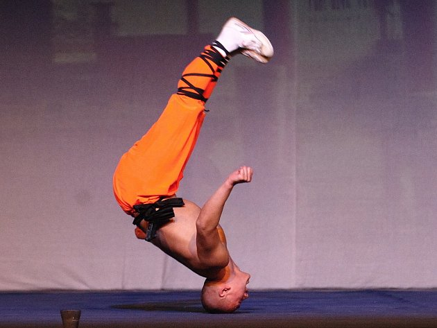 Přímo z kláštera Shaolin do Brna u příležitosti svého 20. světového turné přijela skupina patnácti mnichů. Ve sportovní hale ve Vodově ulici divákům v pondělí večer předvedli atraktivní ukázky ze svého umění.