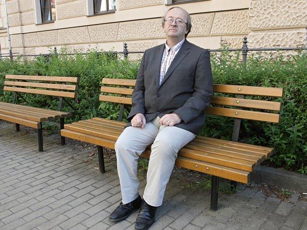 Jeden znejvětších českých odborníků na slovanské jazyky profesor Ivo Pospíšil.