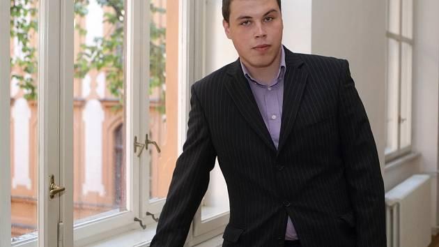 Filip Kunc u Krajského soudu v Brně.