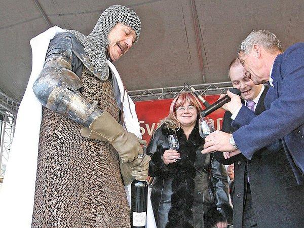 Svatomartinský košt mladého vína vBrně.