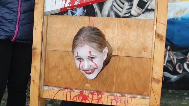 Halloween v hodonínské zoo.