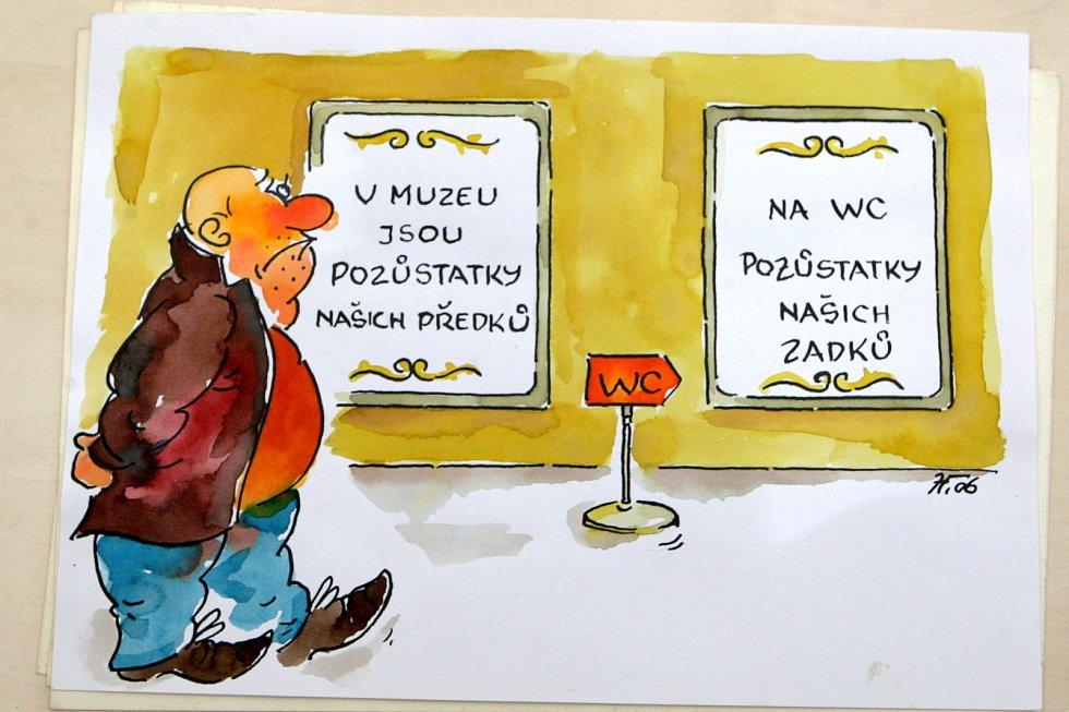 Kresby Jiřího Hávy.