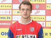 Fotbalista brněnské Zbrojovky Tomáš Borek.