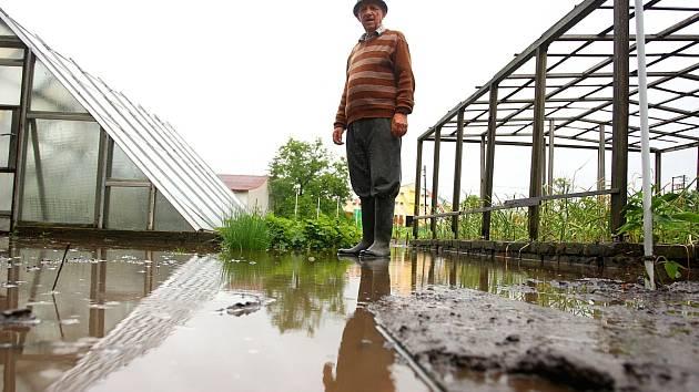 Povodňový stav na Brněnsku.