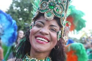 Brno 31.7.2020 - karnevalovým průvodem začal loni Brasil Fest Brno