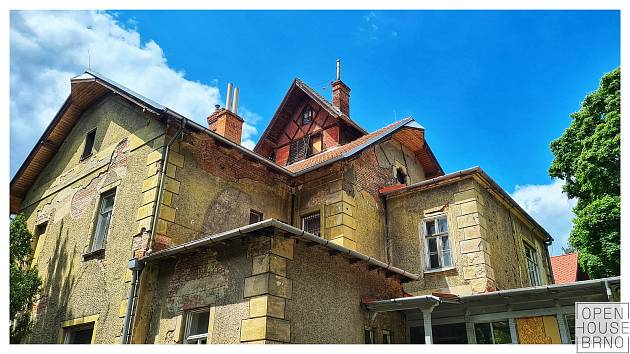 Na sedmnáct tisíc návštěvníků zavítalo 29. a 30. května na programy čtvrtého ročníku festivalu Open House Brno. Na snímku je Arnoldova vila.