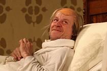 Herec Karel Roden v komedii Zdravý nemocný.
