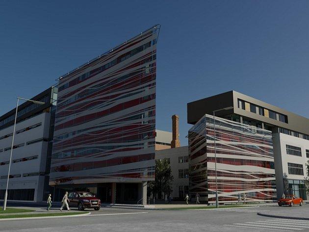 PONAVA CENTRUM. Ve Staňkově ulici v Králově Poli má do konce roku 2012 vyrůst moderní komplex.