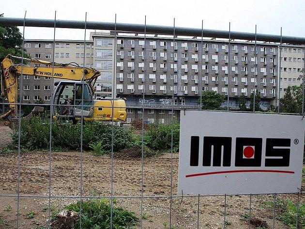 Tento týden začala v Klatovské ulici stavba residence Erasmus.