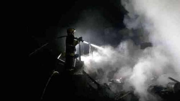 V Medlánkách hořela chata. Majitel utrpěl popáleniny druhého stupně