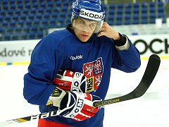 Hokejista Petr Hubáček.