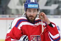 Český reprezentant a bývalý hráč brněnské Komety Michal Kempný.