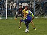 V osmém kole divize D hostili tasovičtí fotbalisté tým Rosic.