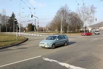 Problematická křižovatka Bystrcké a Kníničské ulice. Ilustrační foto.