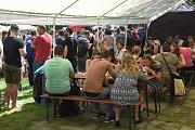 Extreme food festival Brno 2018 v brněnských Lužánkách.