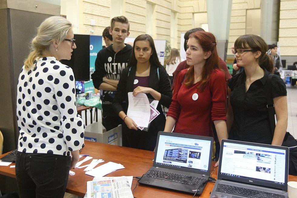 Multimediální den na Fakultě sociálních studií Masarykovy univerzity v Brně.