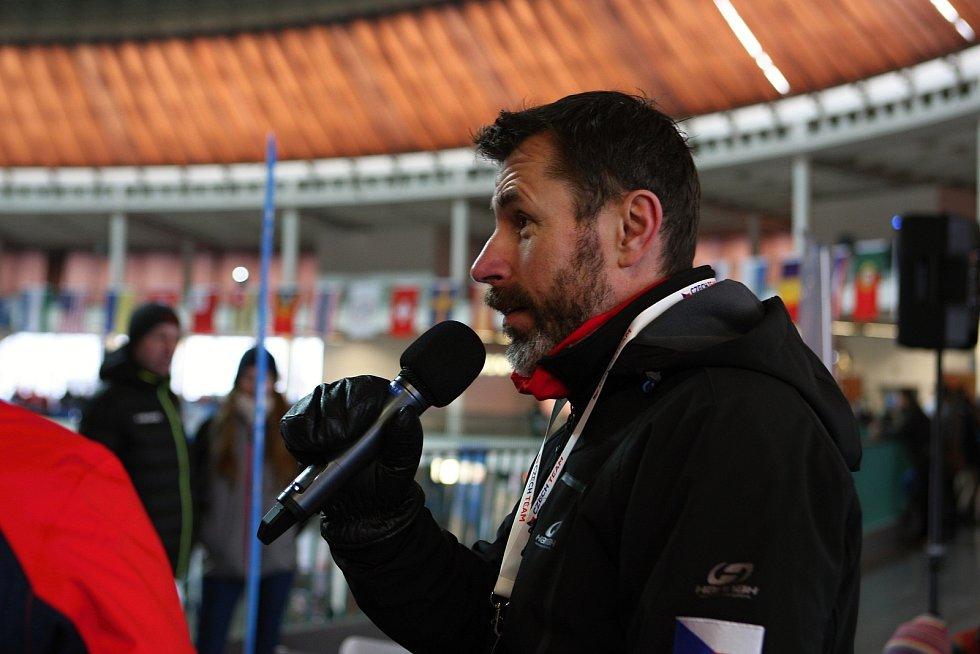 Jiří Snítil na Olympijském festivalu v zóne Deníku.