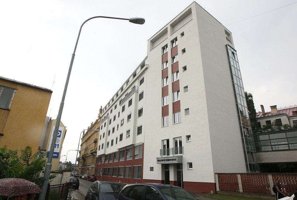 Budova Úrazové nemocnice v Brně.