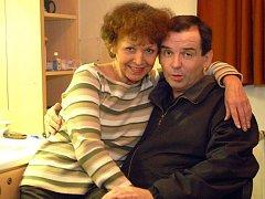 Eva Gorčicová byla svému muži, herci Eriku Pardusovi, partnerkou v životě i na jevišti Městského divadla Brno. Erik Pardus zemřel před čtyřmi lety.