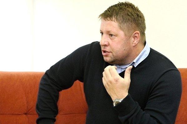 Trenér brněnské Zbrojovky Petr Čuhel.