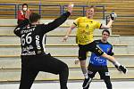 V utkání play-out házenkářské extraligy Nové Veselí zvítězilo v Maloměřicích.