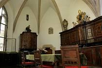Sakristie v katedrále svatého Petra a Pavla