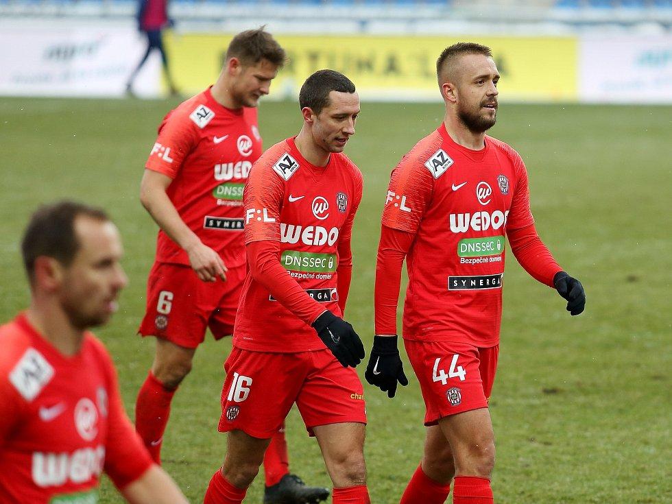 Luděk Pernica vstřelil gól proti Mladé Boleslavi.