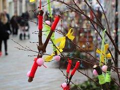 Až do 1. dubna bude centrum města patřit oslavám Velikonoc.