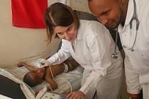 Brněnská kardioložka Anna Chaloupka studovala i na Harvardu. Na první misi v Etiopii pomohla čtyřem stovkám pacientů.
