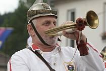 130. výročí sboru dobrovolných hasičů v Dolních Loučkách.
