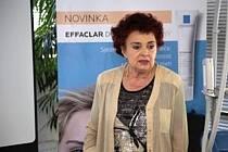 Dermatoložka Jarmila Rulcová.