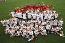 Fotbalový kemp Petra Švancary v Rosicích už čtvrtý rok zlepšuje dovednosti dětí z Moravy a také ze Slovenska.