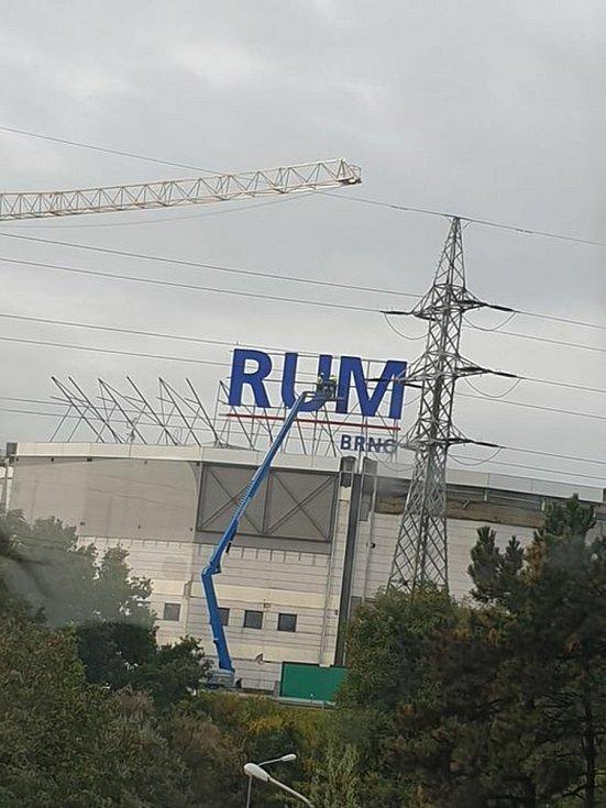 Obchodní centrum Futurum zachycené na fotografii Jana Vincourka, která vzbudila zájem na sociálních sítích.