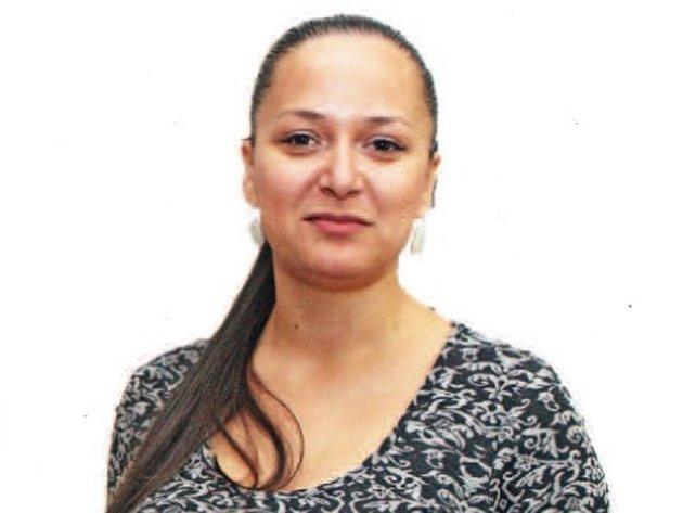 Alica Heráková z Muzea romské kultury.