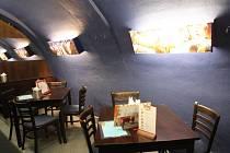 Restaurace Nekonečno v Brně.