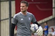 Fotbalový brankář Václav Hladký nyní nastupuje ve třetí anglické lize za Ipswich Town.