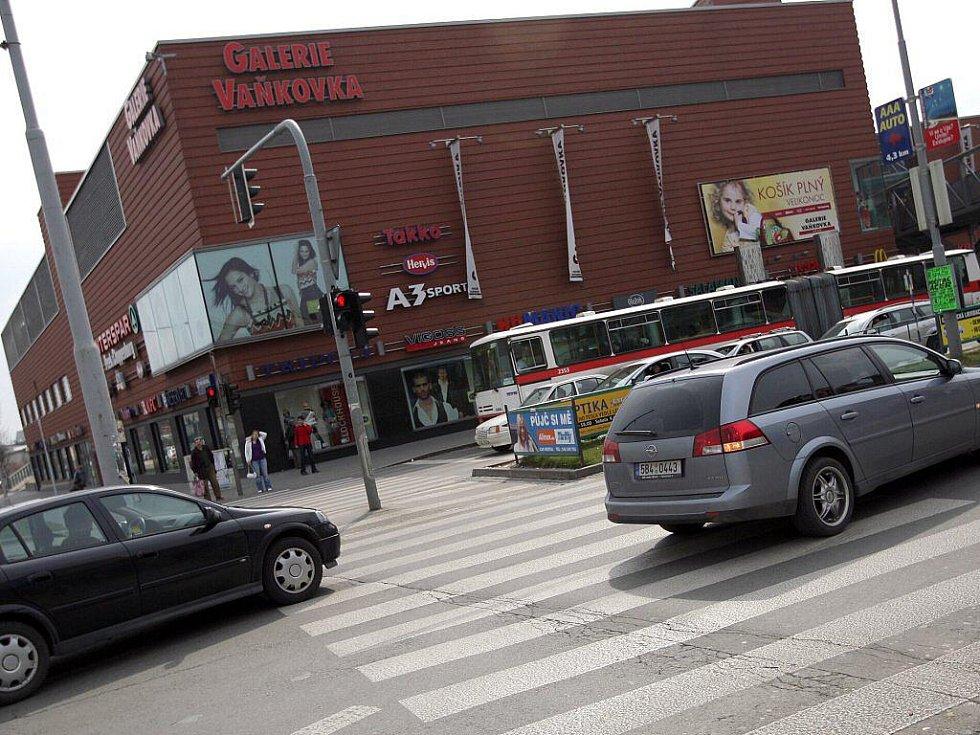 Obchodní centrum Vaňkovka.