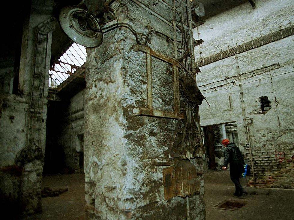Areál bývalé továrny na parní stroje Fridricha Wanniecka.